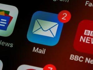 メール送受信に必要なインターネット通信量