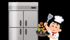 「ハードディスク/SSD」は「キッチンの冷蔵庫」