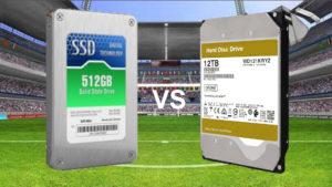 ハードディスク/SSDは形式と容量で性能が決まる